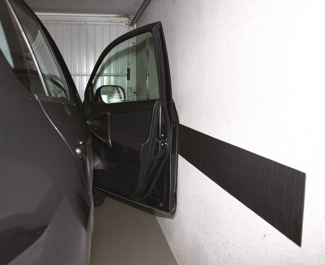 Wall protection in the garage