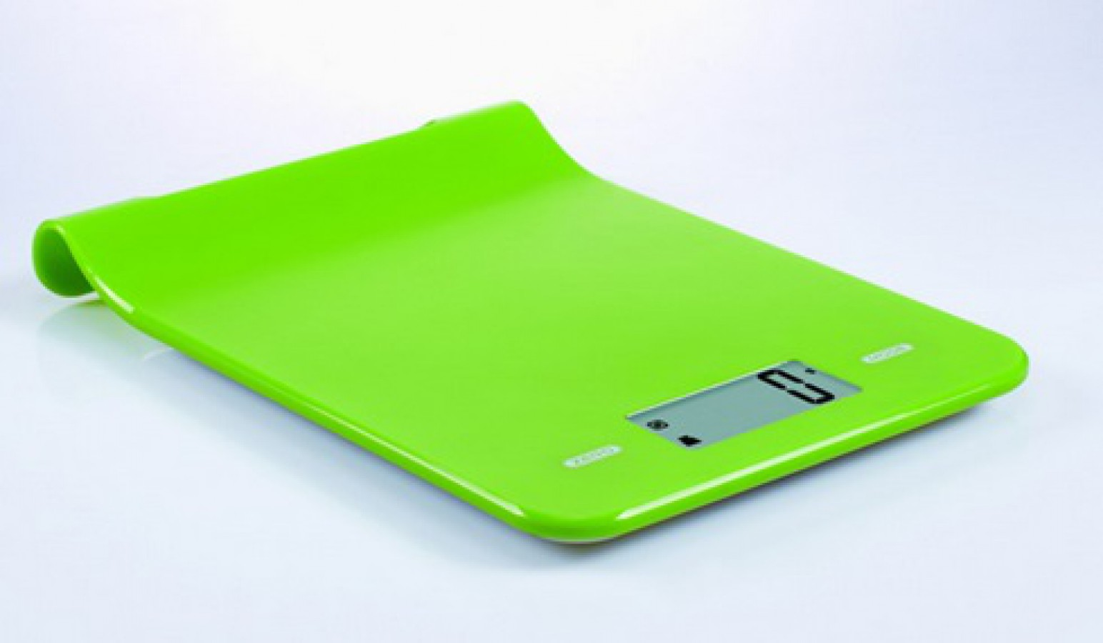 Digital kitchen scale green for hanging