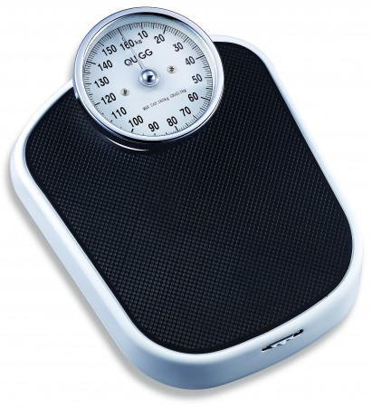 Retro weight scale black