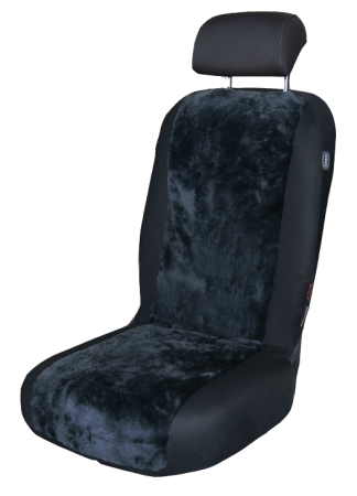 Lambskin seat cover anthracite